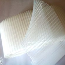 8cm Side Pleated Ivory Milliner's Crinoline Hat Trim